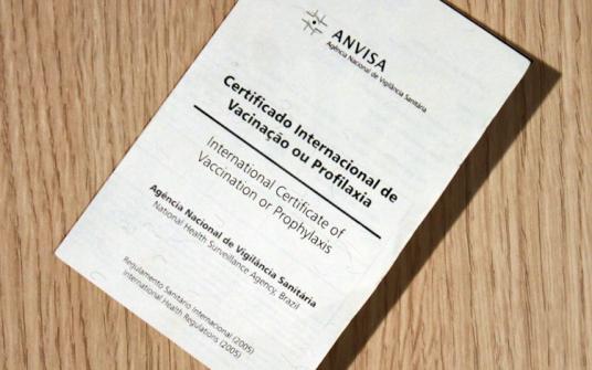 Imagem notícia Como tirar o certificado internacional de vacinação?