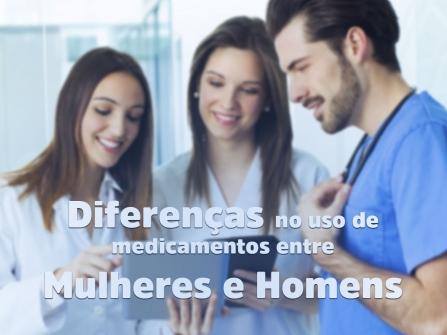 Imagem notícia Diferenças no uso de medicamentos entre mulheres e homens
