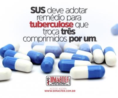 Imagem notícia SUS deve adotar remédio para tuberculose que troca três comprimidos por um