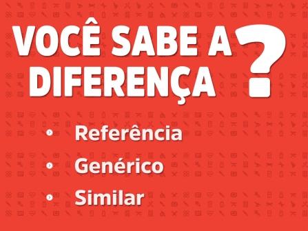 Imagem notícia Medicamentos de Referência, Genéricos e Similares. Saiba diferenciá-los.