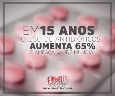 Imagem notícia Em 15 anos o uso de antibióticos aumenta 65% e ameaça saúde mundial