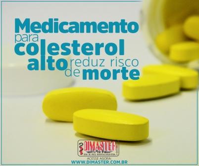 Imagem notícia Medicamento para colesterol alto reduz risco de morte