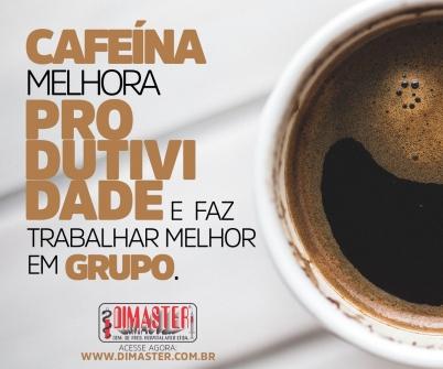 Imagem notícia Cafeína melhora produtividade e faz trabalhar melhor em grupo.