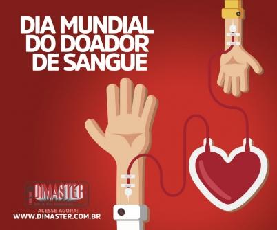 Imagem notícia Dia Mundial do Doador de Sangue