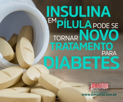 Imagem notícia Insulina em pílula pode se tornar novo tratamento para diabetes