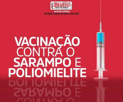Imagem notícia Entenda como será a campanha de vacinação contra o sarampo e a poliomielite.
