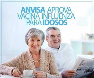 Imagem notícia Anvisa aprova vacina influenza para idosos