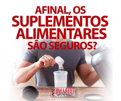Imagem notícia Afinal, os suplementos alimentares são seguros?