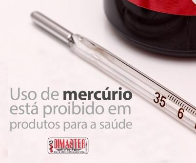 Imagem notícia Uso de mercúrio está proibido em produtos para a saúde