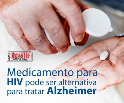 Imagem notícia Medicamento para HIV pode ser alternativa para tratar Alzheimer