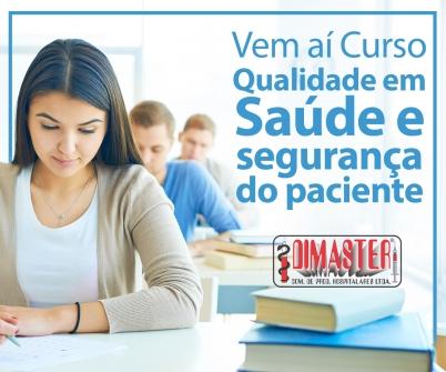 Imagem notícia Vem aí Curso Qualidade em Saúde e Segurança do Paciente