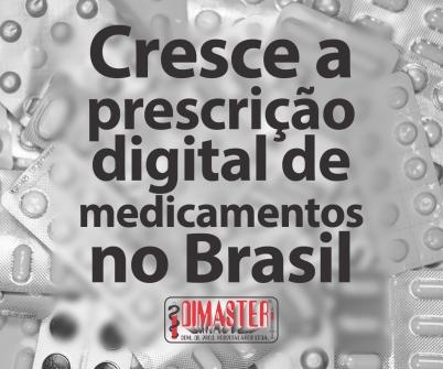 Imagem notícia Cresce a prescrição digital de medicamentos no Brasil