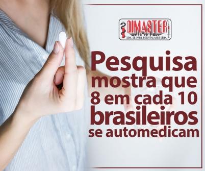 Imagem notícia Pesquisa mostra que oito em cada 10 brasileiros se automedicam