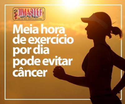 Imagem notícia Meia hora de exercício por dia pode evitar câncer, aponta pesquisa