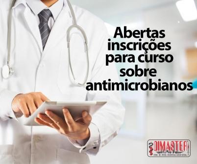 Imagem notícia Abertas inscrições para curso sobre antimicrobianos