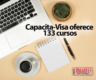 Imagem notícia Capacita-Visa oferece 133 cursos