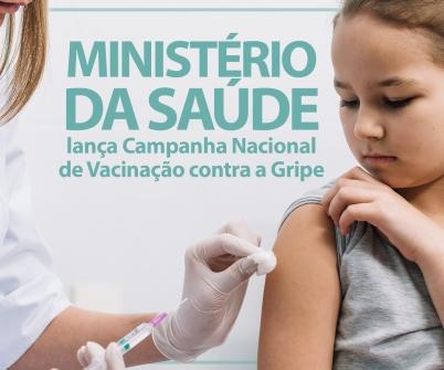 Imagem notícia Ministério da Saúde lança Campanha Nacional de Vacinação contra a Gripe